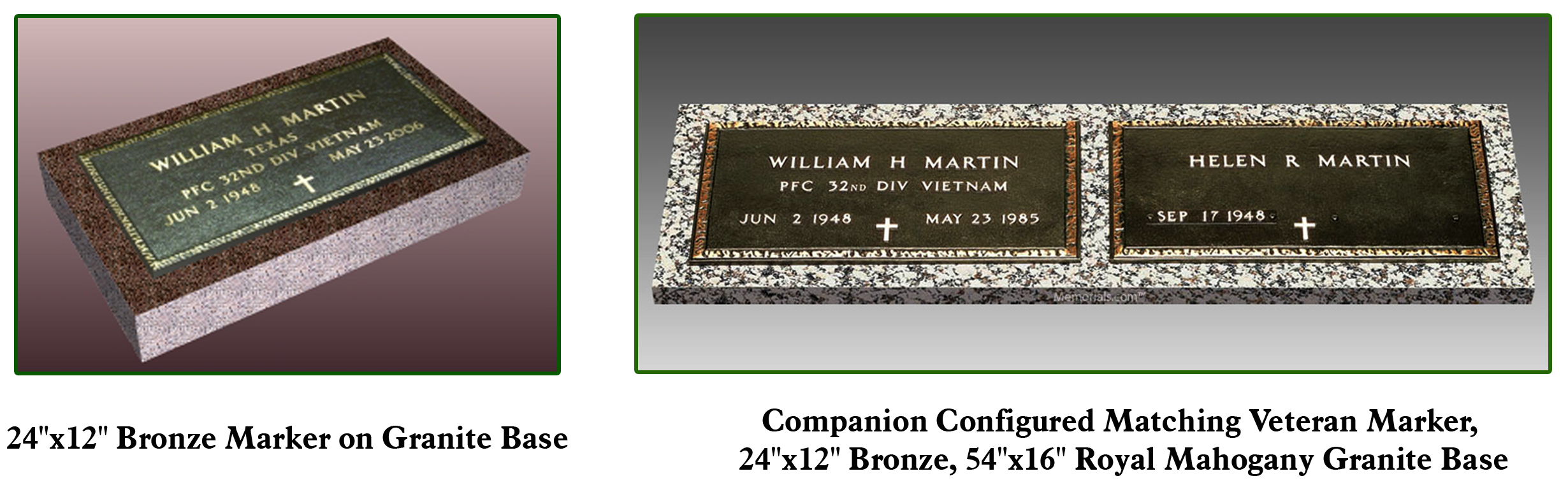 Laser engraving infant cemetery markers and monuments